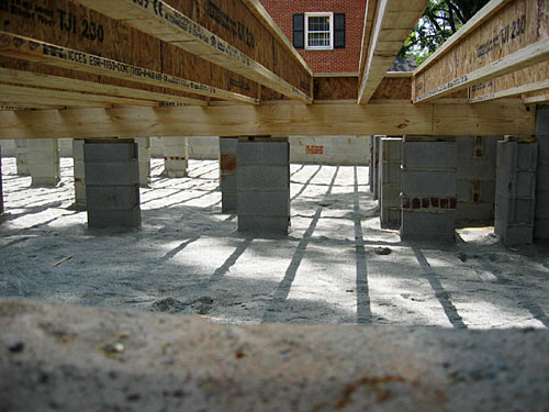 crawl space foundation On how to build a crawl space foundation for a house