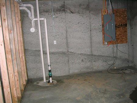 concrete slab garage floor basement floor