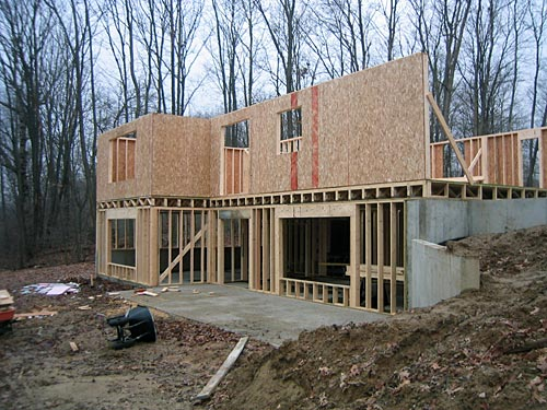Walkout basement for Foundation for homes