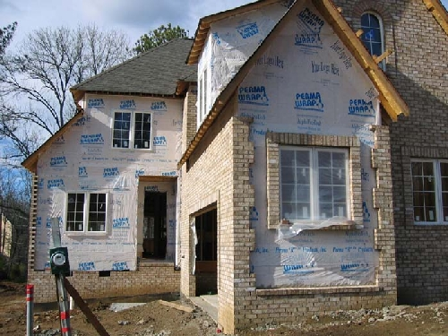 Building a house step by step siding roofing insulation for Building a house step by step