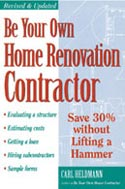 be your own home renovation contractor