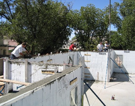 Icf contractors for Insulated concrete form construction